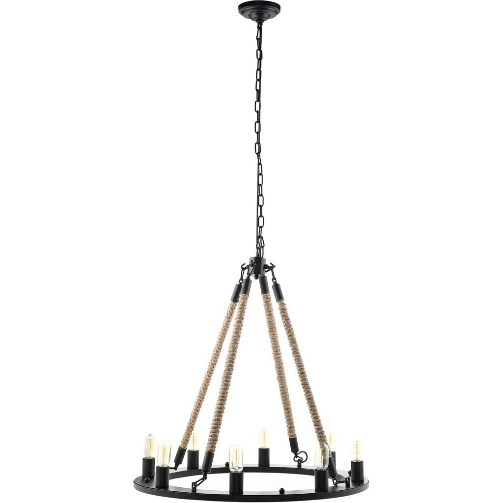 Enthrall Chandelier Black
