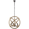 Insight Chandelier Brown