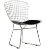 Cross Side Chair Black