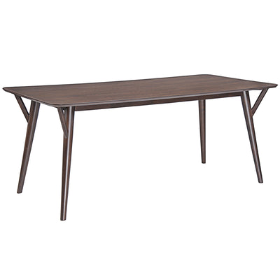 Brim Dining Table Walnut