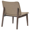 Estee Lounge Chair Walnut Latte