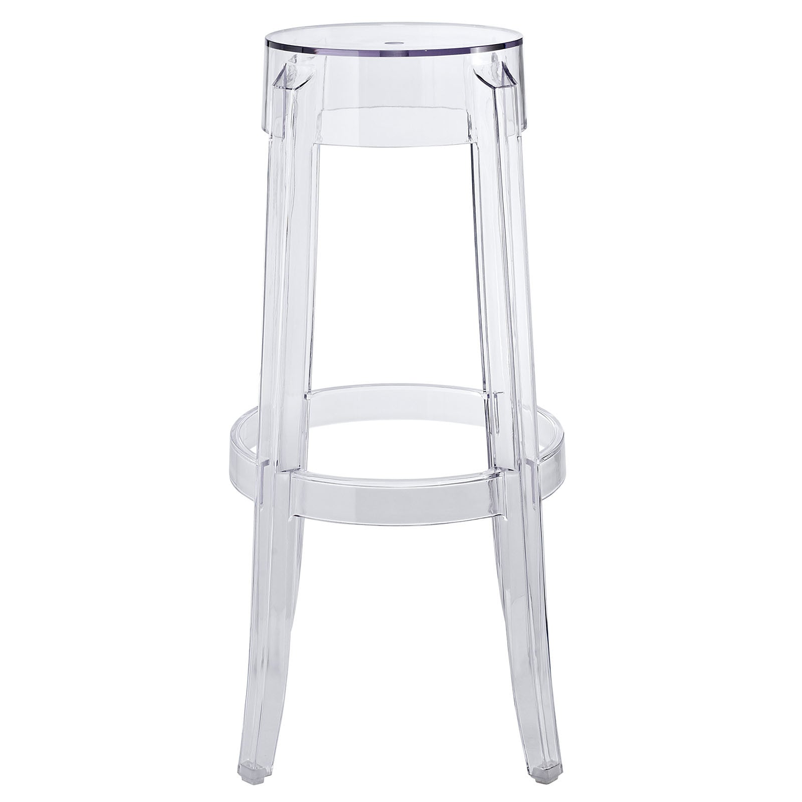 Amazing Clary Bar Stool Clear Gmtry Best Dining Table And Chair Ideas Images Gmtryco
