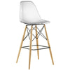 Peace Bar Stool Clear