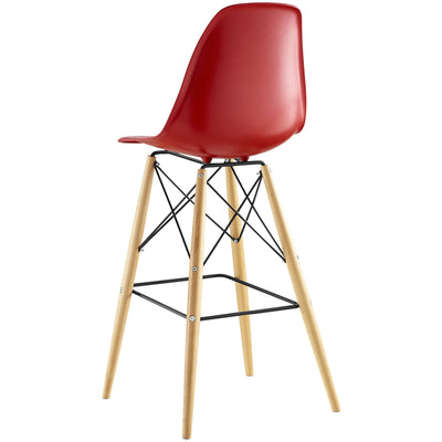 Peace Bar Stool Red