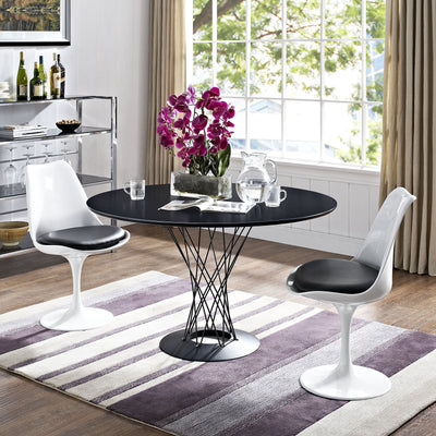 Cycle Stainless Steel Dining Table Black