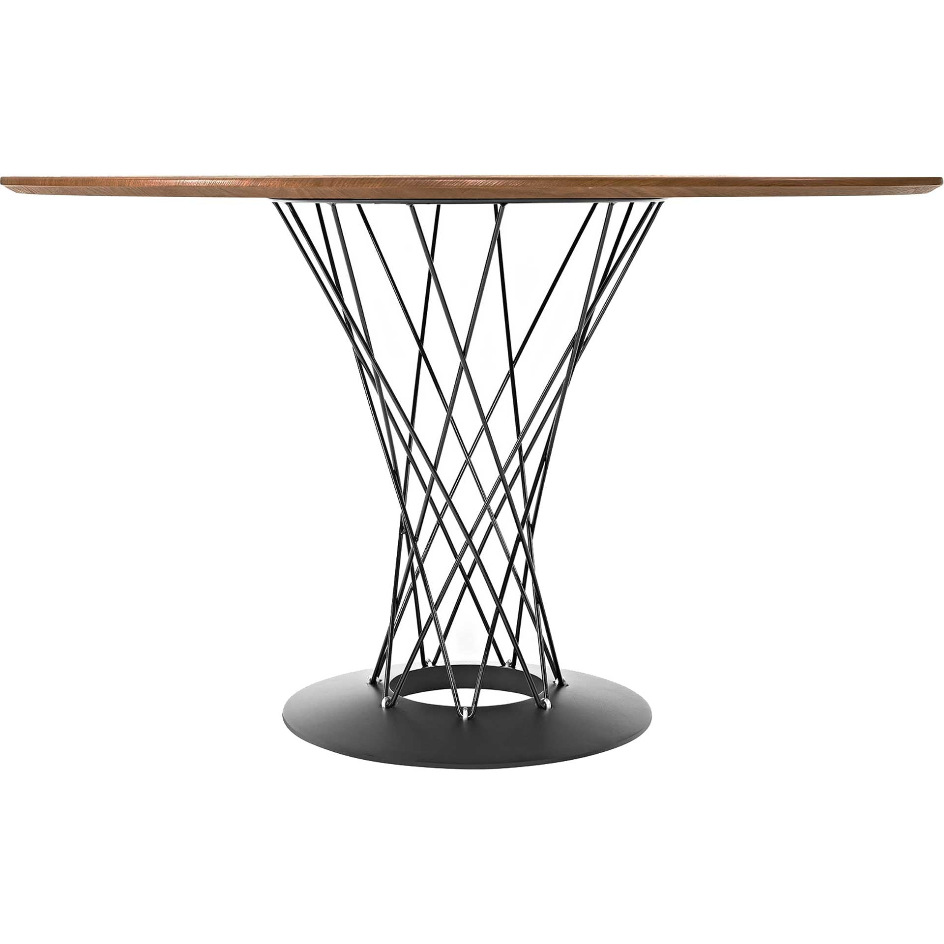 Cycle Stainless Steel Dining Table Walnut