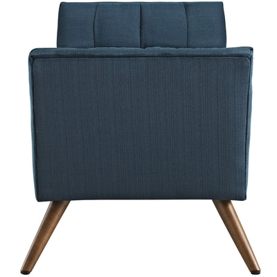 Reborn Medium Fabric Ottoman Azure