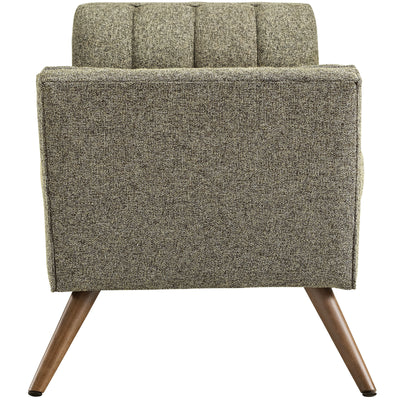 Reborn Medium Fabric Ottoman Oatmeal
