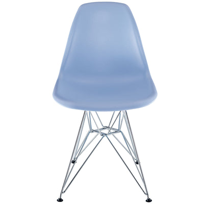 Poet Side Chair Blue
