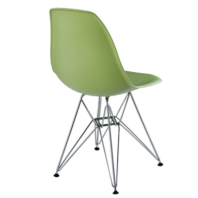 Poet Side Chair Green