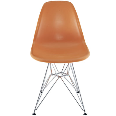 Poet Side Chair Orange