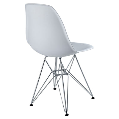 Poet Side Chair White
