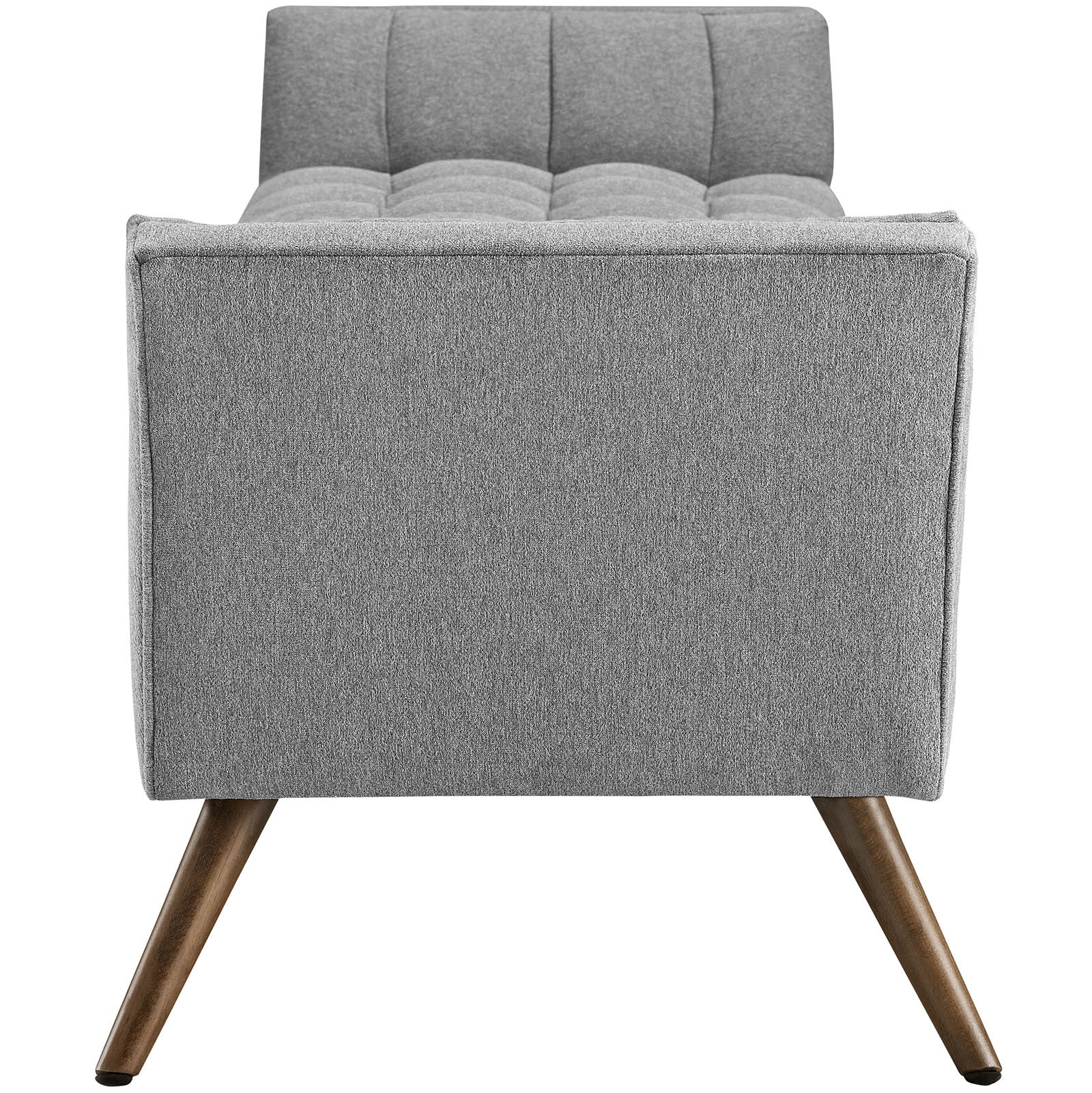 Reborn Fabric Ottoman Expectation Gray