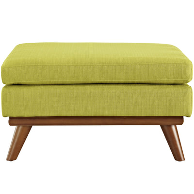 Emory Fabric Ottoman Wheatgrass