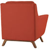 Beowulf Fabric Armchair Atomic Red