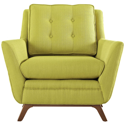 Beowulf Fabric Armchair Wheatgrass