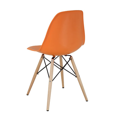 Peace Side Chair Orange