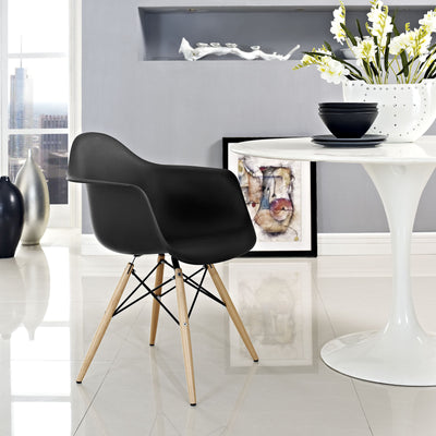 Peace Armchair Black