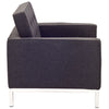Lyte Wool Armchair Dark Gray
