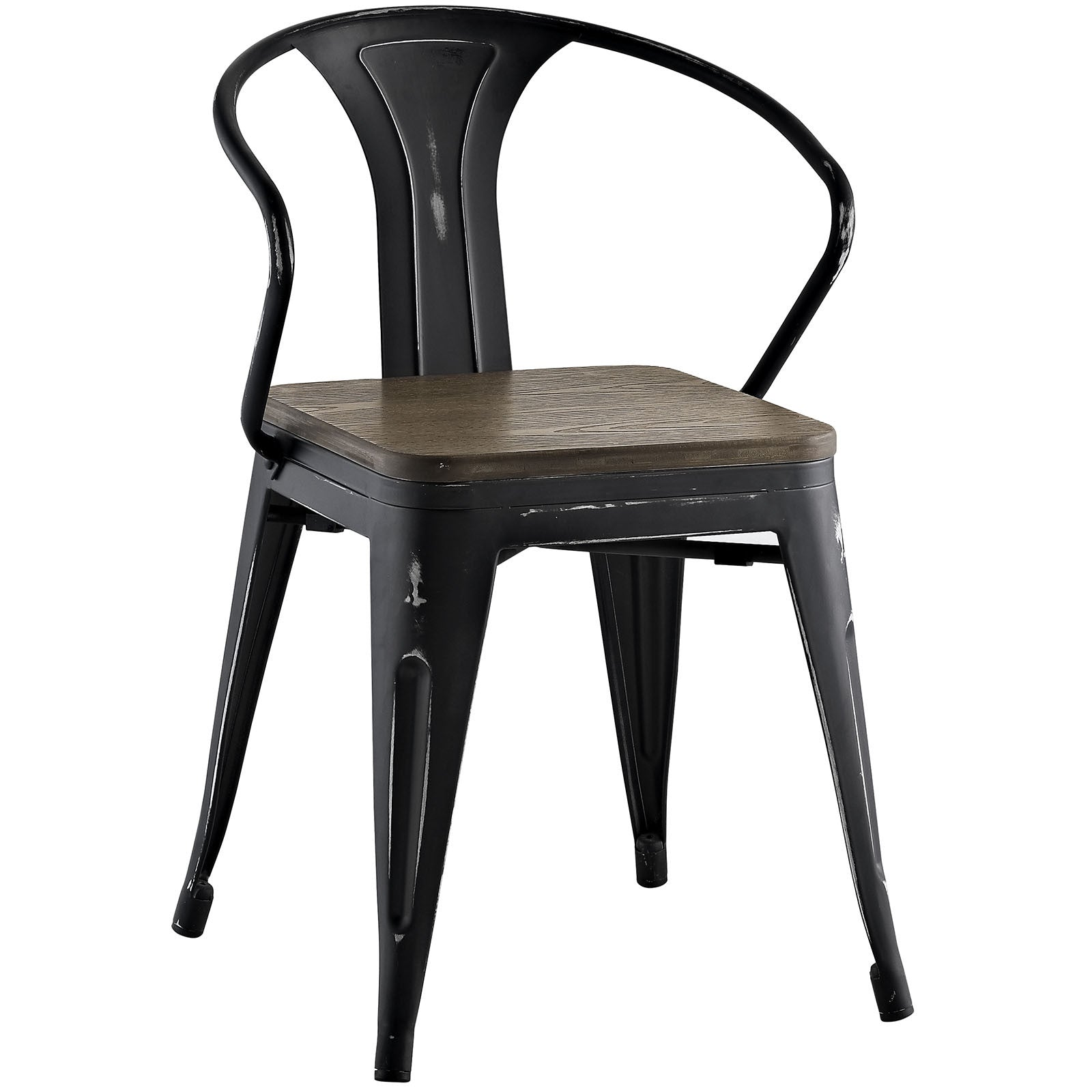 Panora Bamboo Dining Chair Black