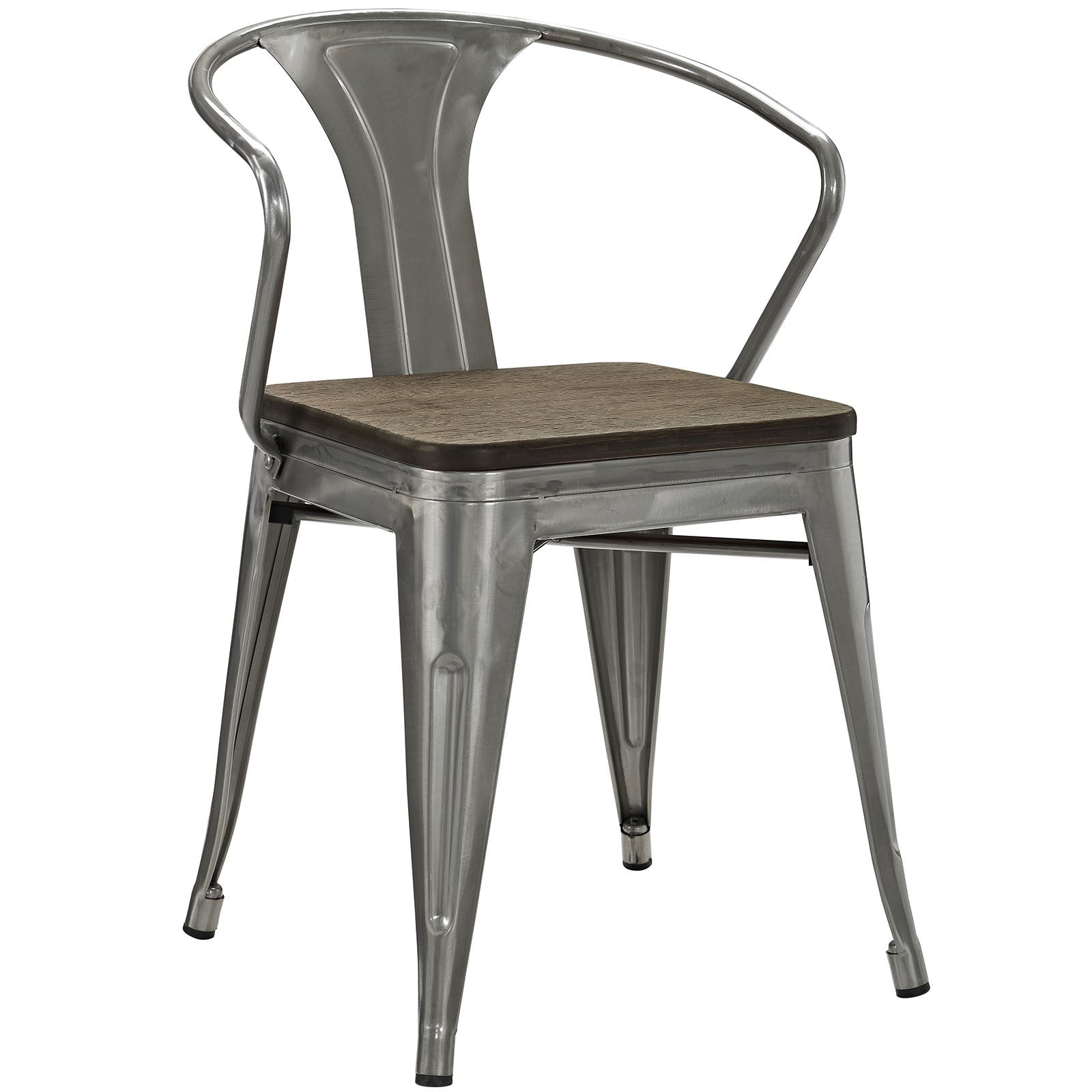 Panora Bamboo Dining Chair Gunmetal FROY