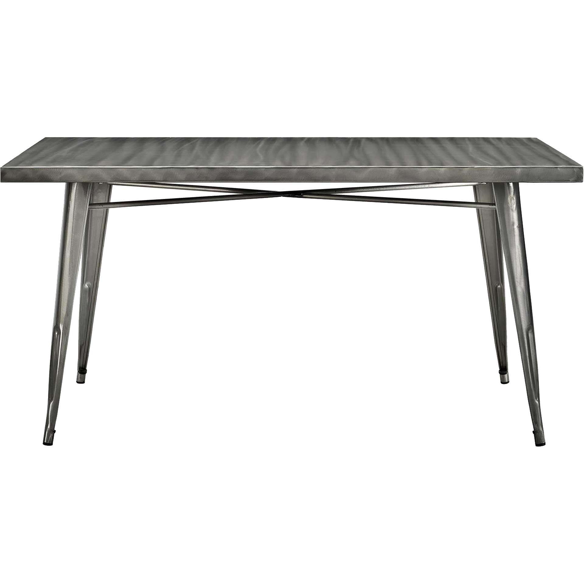 Anthropology Rectangle Dining Table Gunmetal
