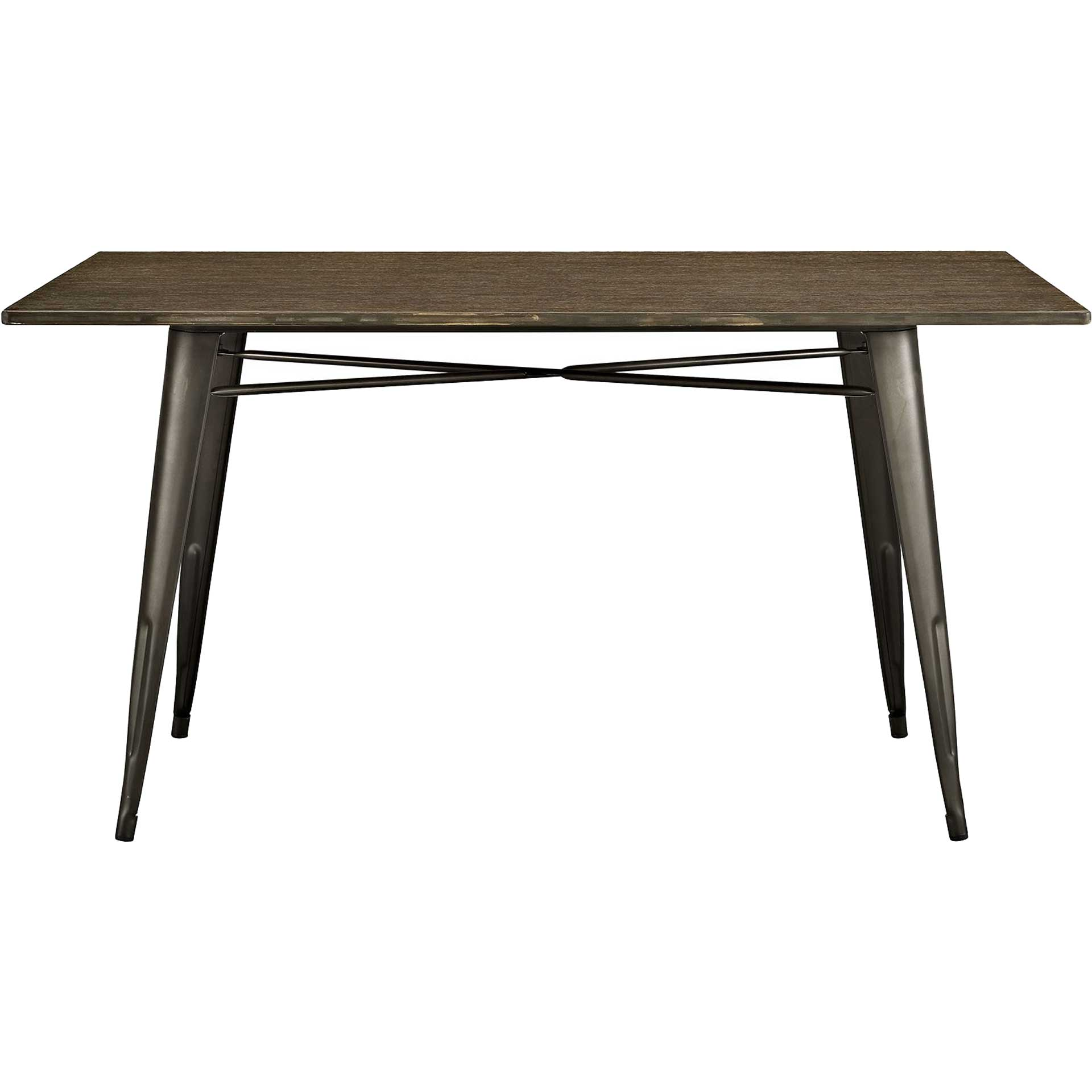 Anthropology Rectangle Wood Dining Table Brown