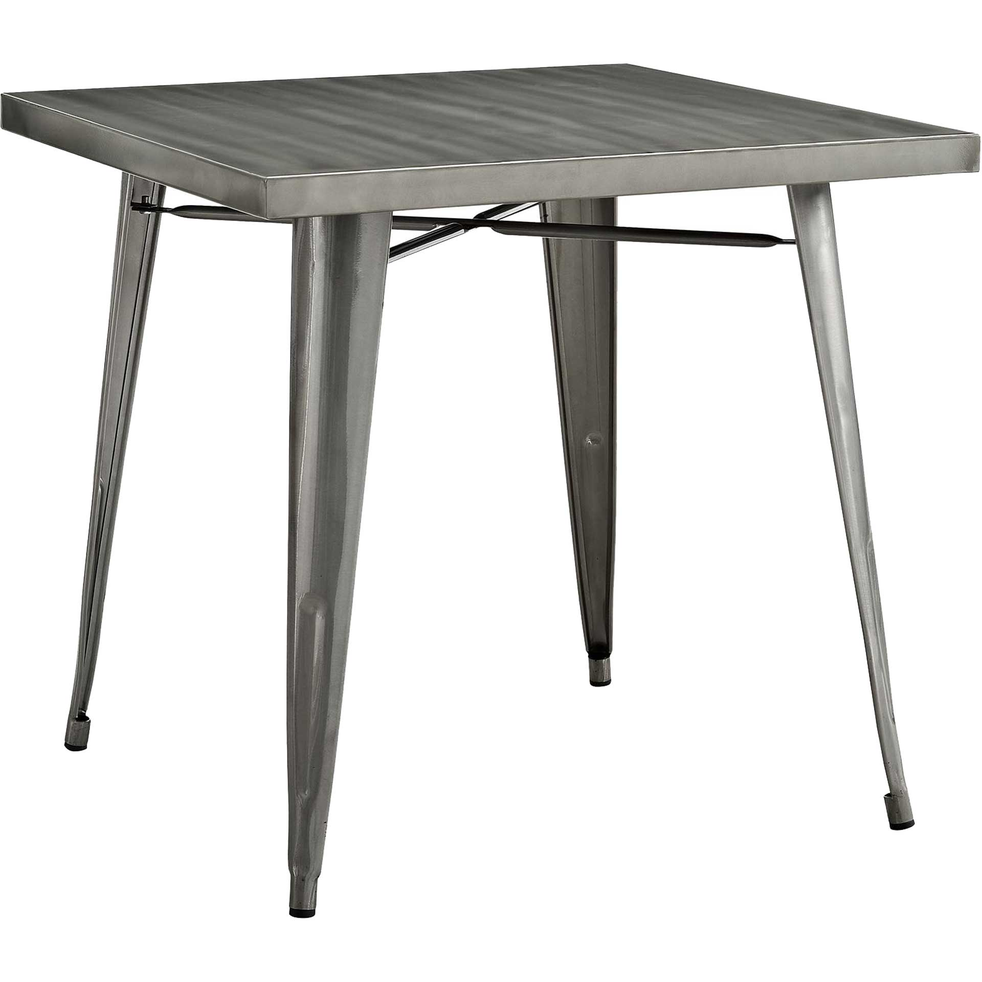 Anthropology Square Dining Table Gunmetal