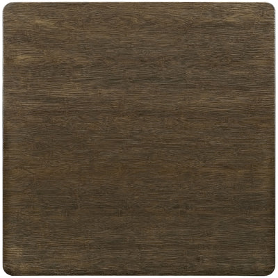 Anthropology Square Wood Dining Table Brown