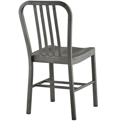 Cloister Dining Chair Silver