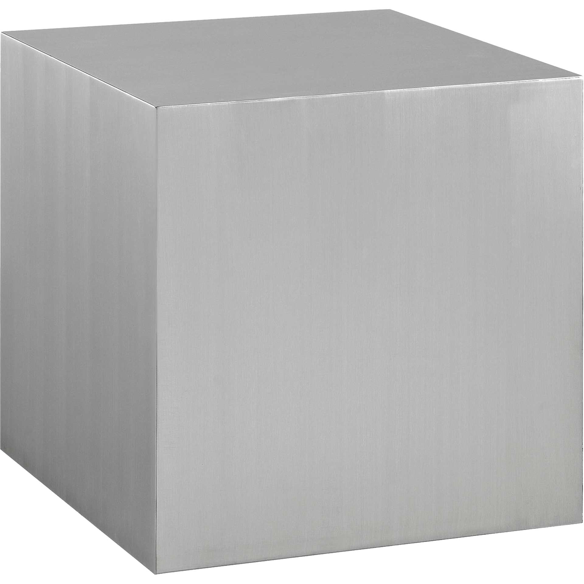 Cabin Stainless Steel Side Table Silver