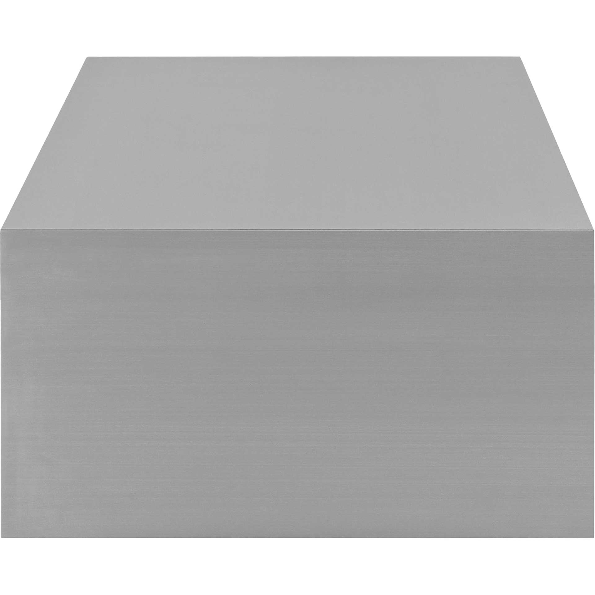 Cabin Stainless Steel Coffee Table Silver
