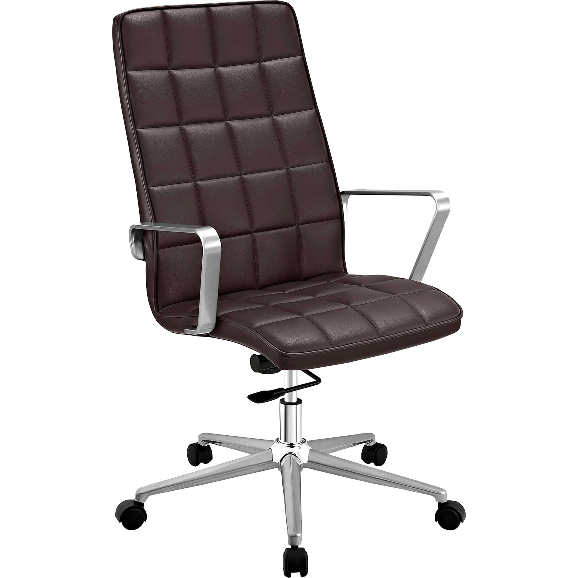 Tieton Highback Office Chair Brown