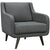 Virtue Armchair Gray
