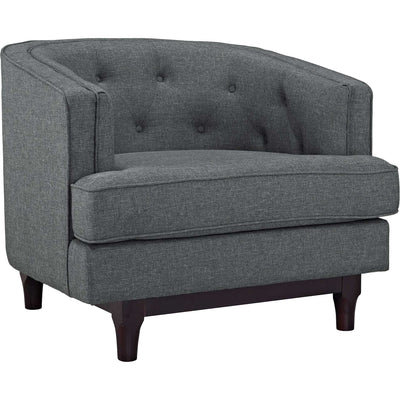 Coastline Armchair Gray