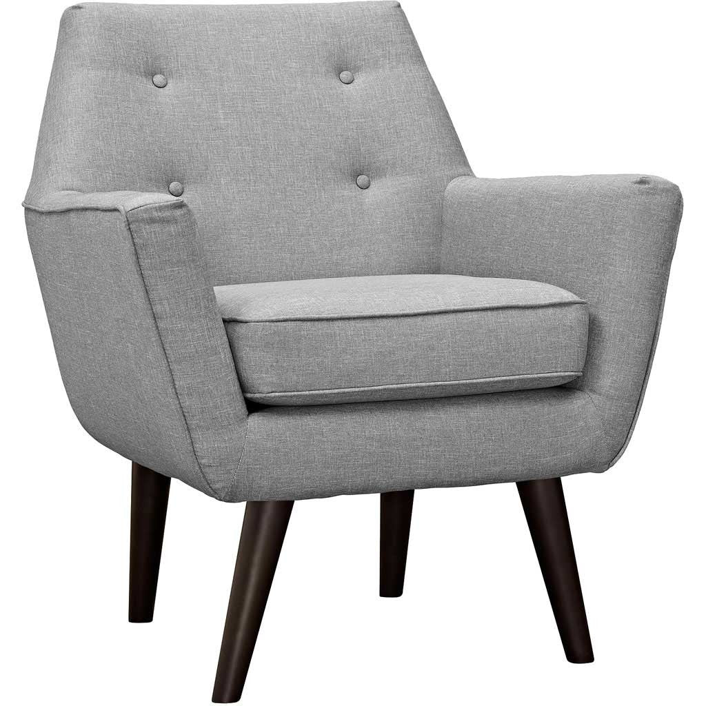 Posterity Armchair Light Gray