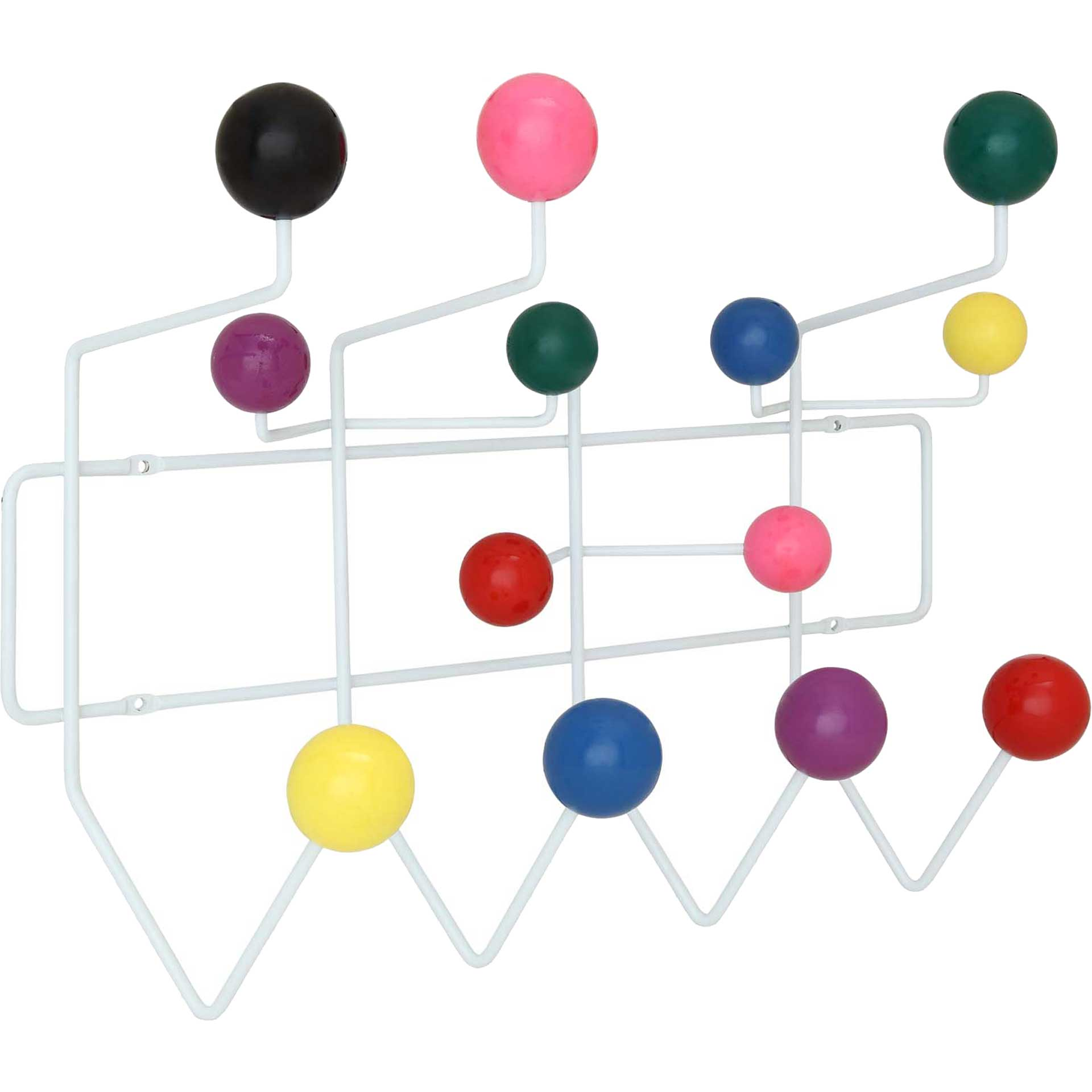 Gumball Coat Rack Multicolored