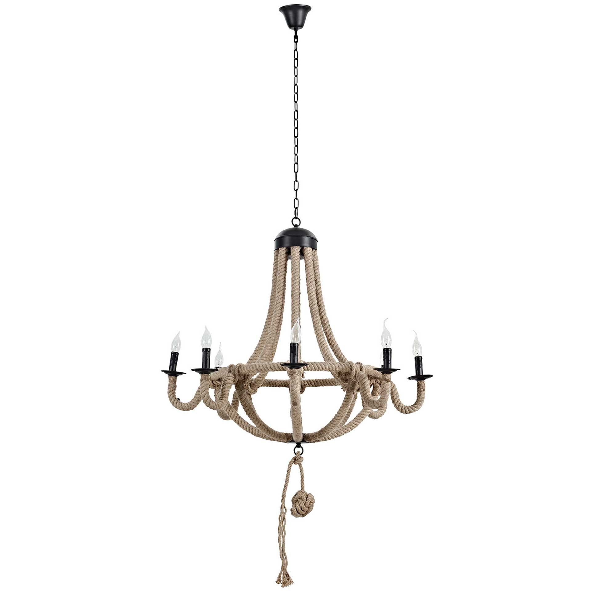 Charlee Chandelier Brown