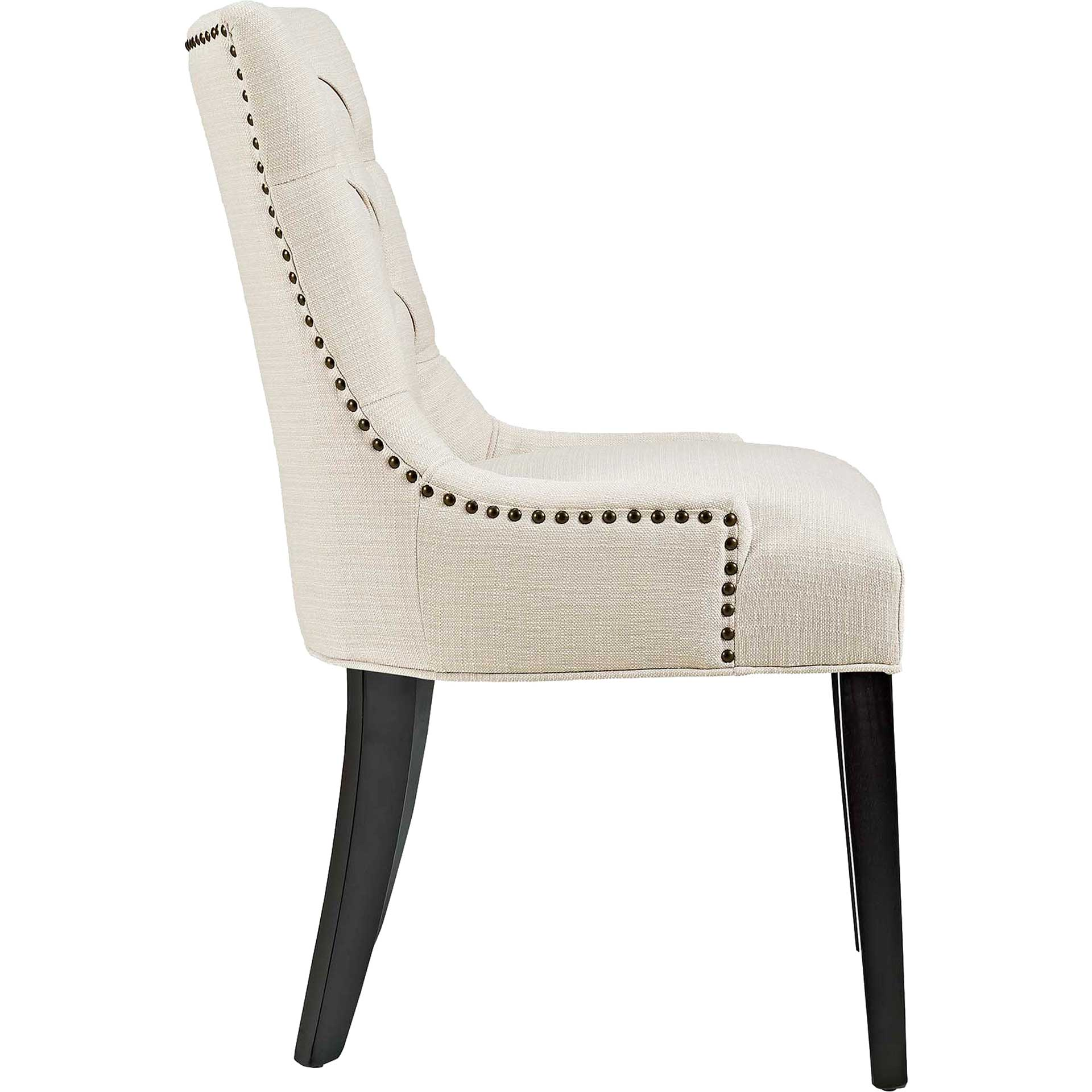 Riley Fabric Dining Chair Beige