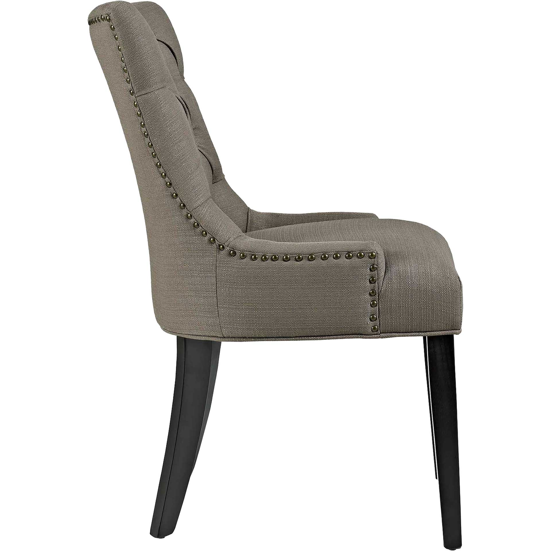 Riley Fabric Dining Chair Granite