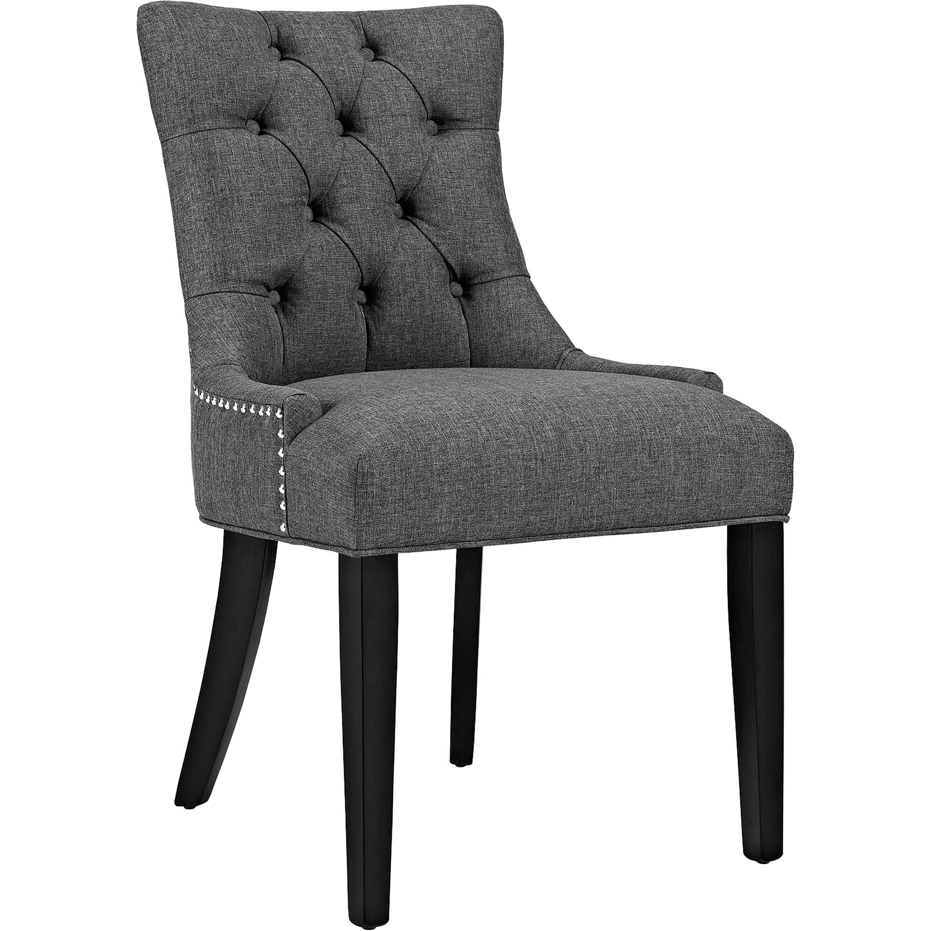 Riley Fabric Dining Chair Gray