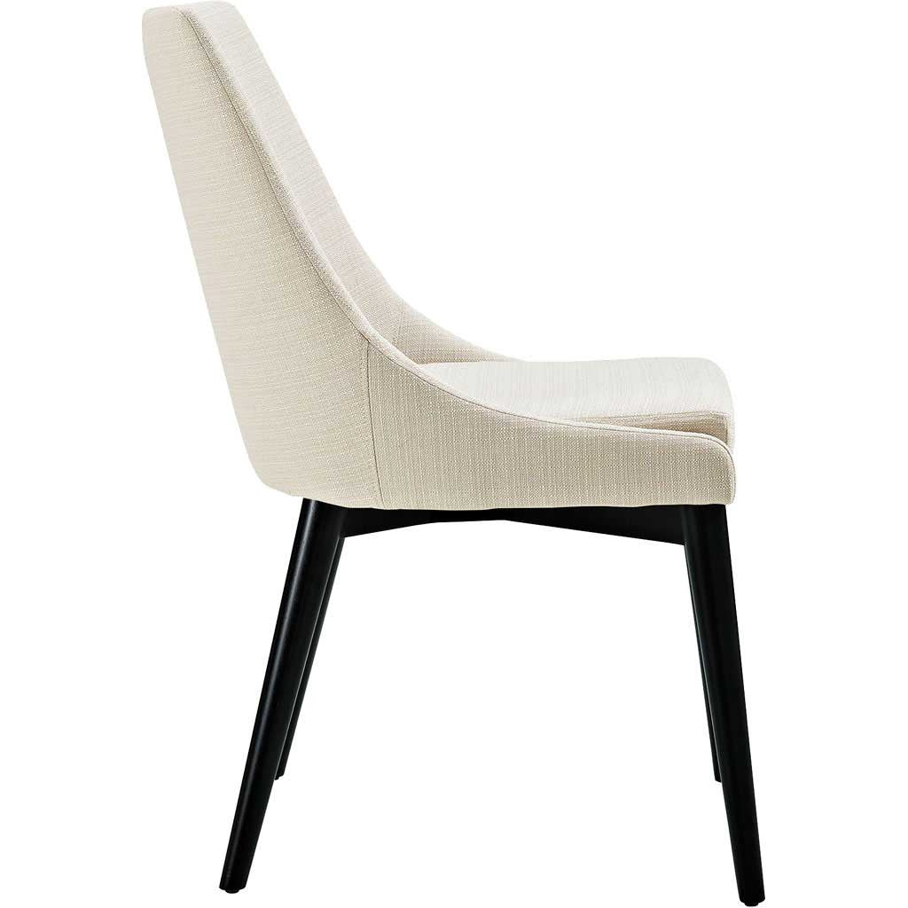 Victoria Fabric Dining Chair Beige