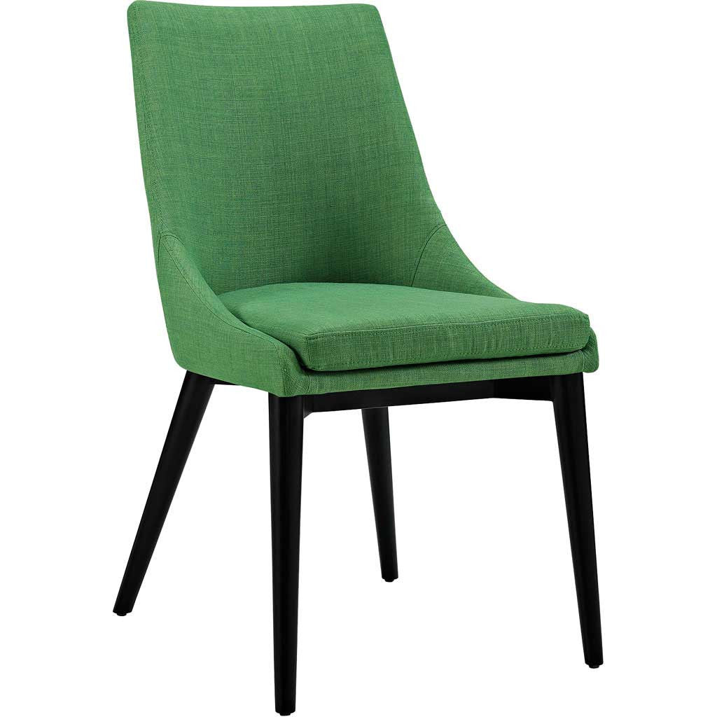 Victoria Fabric Dining Chair Green