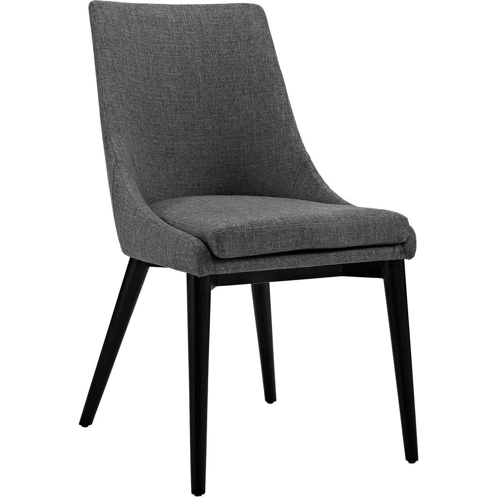 Victoria Fabric Dining Chair Gray