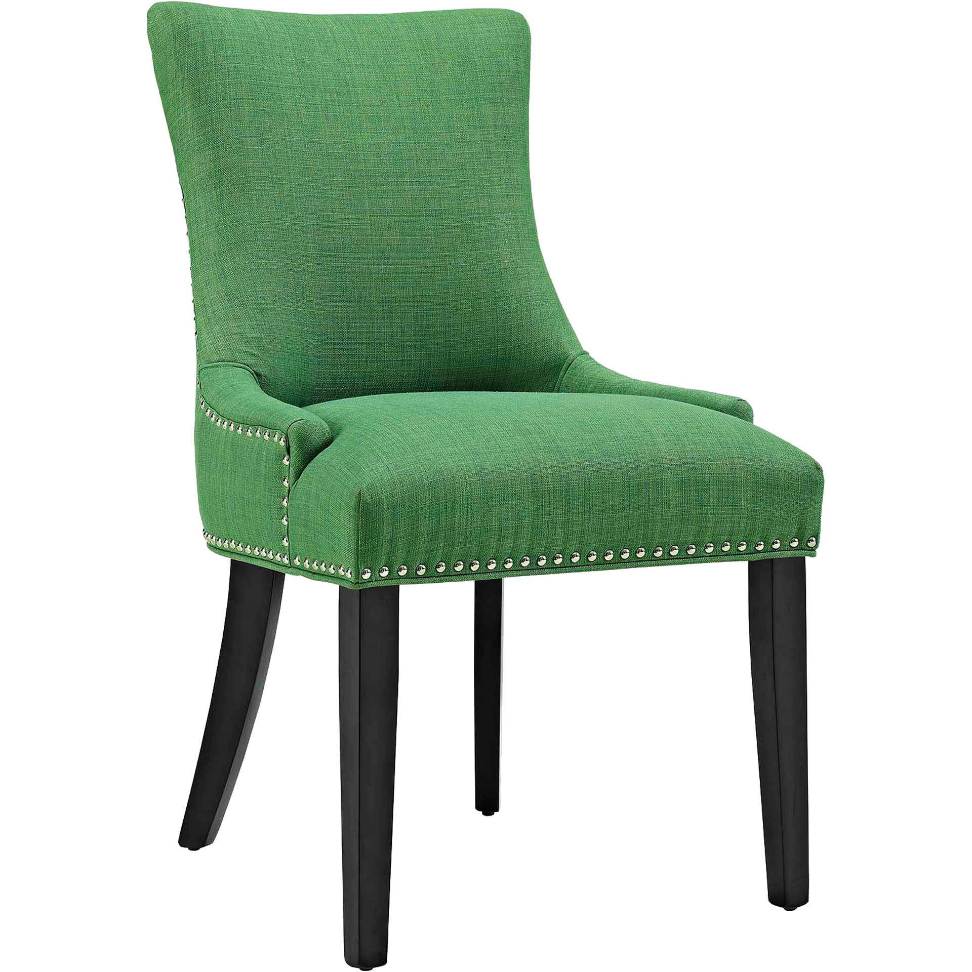 Madison Fabric Dining Chair Kelly Green