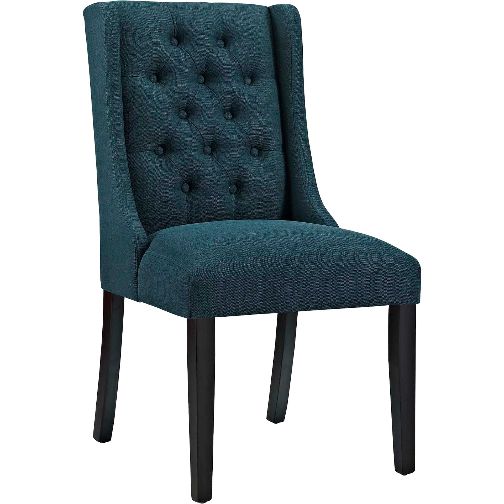 Baker Fabric Dining Chair Azure