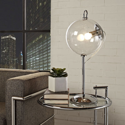 Chime Table Lamp Clear