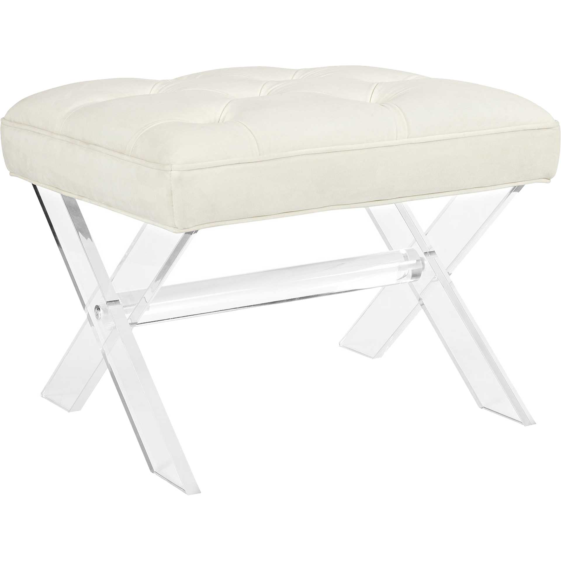 Sloan Bench Ivory