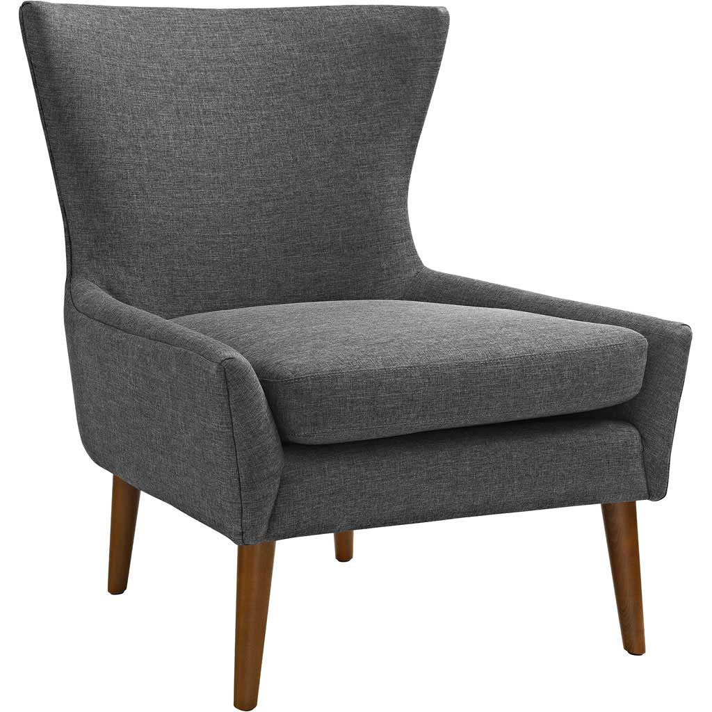 Kessel Fabric Armchair Gray