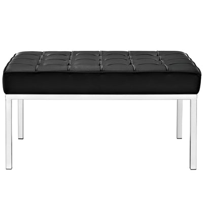 Lyte Two-Seater Bench Black